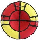 Тюбинг Hubster Хайп, 110 см, красный/желтый (во5572-4)