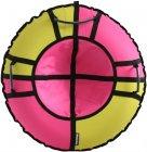 Тюбинг Hubster Хайп, 110 см, желтый/розовый (во5656-3)
