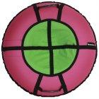 Тюбинг Hubster Ринг Хайп, 90 см, розовый/салатовый (во5857-1)