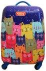 Чемодан MAGIO Веселые коты, разноцветный (158)