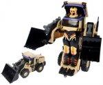 Робот-трансформер 1toy Тракботы: Экскаватор, 47 см (Т10600)