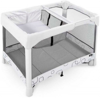 Манеж 4Moms Breeze Plus Gray (2000733) манеж кровать joie kubbie sleep foggy gray