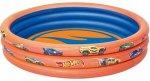 Надувной детский бассейн BESTWAY Hot Wheels, 122х25 см, 140 л (бв93403)