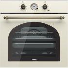 Электрический духовой шкаф Teka Country HRB 6300 Vanilla/Brass (111010012)