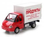 Инерционная машинка Playsmart Газель фургон: Продукты, 24 см (Р40514)