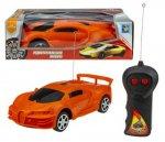 Радиоуправляемая машина 1toy Спортавто: легковой, 17 см, оранжевый (Т13817)