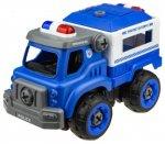 Радиоуправляемая машина 1toy Экстренные службы: Полицейский грузовик, 18 см (Т16962)