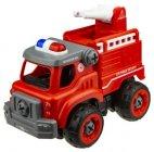 Радиоуправляемая машина 1toy Экстренные службы: Пожарный грузовик, 18 см (Т16963)