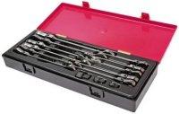 Набор ключей трещоточных JTC комбинированные, 8-19 мм, 14 шт (K6142)