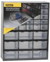 Органайзер STANLEY вертикальный, 365x160x445 мм, 39 отделений (1-93-981) органайзер stanley 39 отделений пластмассовый 1 93 981