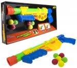 Игрушечное оружие 1toy Street Battle: 2 в 1 водяное с мягкими шариками (Т17335)