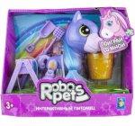 Интерактивная игрушка 1toy RoboPets: Игривый пони, фиолетовый (Т16977)