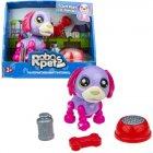 Интерактивная игрушка 1toy RoboPets: Озорной щенок, фиолетовый/фуксия (Т16938)