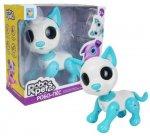 Интерактивная игрушка 1toy RoboPets: Робо-пес, белый/голубой (Т14335)