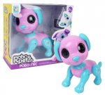 Интерактивная игрушка 1toy RoboPets: Робо-пес, розовый/голубой (Т14336)