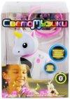 Интерактивная игрушка 1toy Светомузики: Единорог (Т16309)