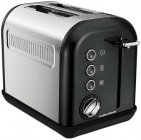 Тостер MORPHY RICHARDS Accents Toaster Black SS 2 Slice (222013EE)
