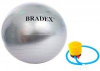 """Мяч для фитнеса Bradex SF 0379 """"Антивзрыв"""", 65 см, с насосом"""