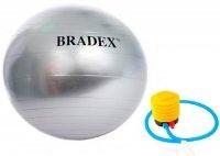 """Мяч для фитнеса Bradex SF 0187 """"Фитбол-75"""", с насосом"""