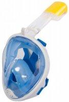 Маска для плавания и снорклинга Bradex SF 0369 с креплением для экшн-камеры, S/M, голубая