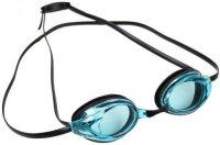 """Очки для плавания Bradex SF 0395 """"Спорт"""", черные линзы, голубые"""