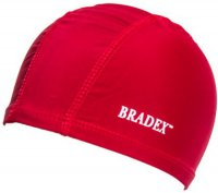 Шапочка для плавания Bradex SF 0358 красная
