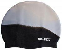 Шапочка для плавания Bradex SF 0363 мультиколор черная