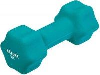 Гантель Bradex SF 0543 неопреновая, 3 кг, голубая