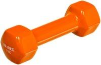 Гантель Bradex SF 0534 обрезиненная, 1,5 кг, оранжевая