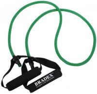 Эспандер трубчатый Bradex SF 0234 с ручками, до 11 кг, зеленый