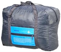 сумка дорожная grizzly цвет желтый 17 л td 831 3 4 Сумка дорожная Bradex TD 0598 Полет, складная, голубая