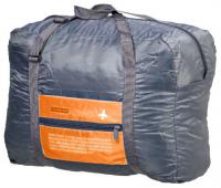 сумка дорожная grizzly цвет желтый 17 л td 831 3 4 Сумка дорожная Bradex TD 0599 Полет, складная, оранжевая