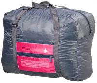 сумка дорожная grizzly цвет желтый 17 л td 831 3 4 Сумка дорожная Bradex TD 0597 Полет, складная, розовая