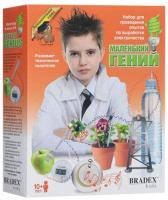 bradex набор bradex маленький гений для проведения опытов по выработке электричества Набор для опытов Bradex DE 0122 Маленький гений