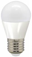 лампа светодиодная e27 7w 6500k груша матовая 4690389085499 Светодиодная лампа Feron 7W 230V E27 2700K, LB-95 (25481)
