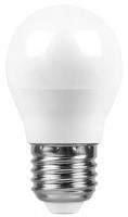 лампа светодиодная e27 7w 6500k груша матовая 4690389085499 Светодиодная лампа Saffit 7W 230V E27 2700K, SBG4507 (55036)