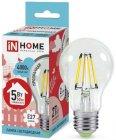 Светодиодная лампа Asd IN Home LED-A60-deco 5Вт 230В E27 4000К