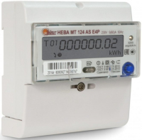 Счетчик электроэнергии Тайпит НЕВА MT 124 AS ОР (316340)