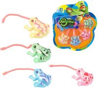 Детский игровой набор 1toy Т10770 Мелкие пакости Лизуны лягушка 4 шт фото