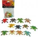 Детский игровой набор 1toy Т50502 В мире животных лягушки (12шт)