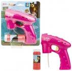 Детский игровой набор МАША И МЕДВЕДЬ Т17304 пистолет для мыльных пузырей
