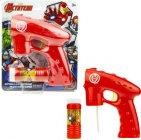 Пистолет для мыльных пузырей MARVEL Железный человек (Т17303)