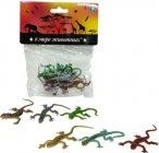 Игровой набор 1toy В мире животных: ящерицы, 8 шт (Т10490)
