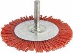 Насадка-кордщётка Hammer Flex для дрели, нейлон, плоская 100 мм (207-214)