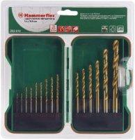 Набор сверл по металлу Hammer Flex №18 1.0-10 мм. 15 шт (202-918)