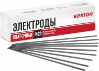 Электрод сварочный Кратон по углеродистой стали, 3,2 мм, 1 кг (11901008)