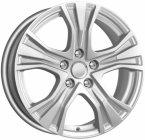 Колесный диск K-K Audi A4 (КСr673) 7,0\R17 5*112 ET46 d66,6 Silver (67998)