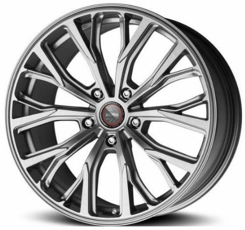 Колесный диск MOMO SUV RF-02 9,0\R20 5*130 ET45 d71,5 Titan Silver Brushed FFFB (WR21T90045371Z)