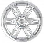 Колесный диск SKAD Тор 8,0\R18 6*114,3 ET30 d66,1 Сильвер (2450102)