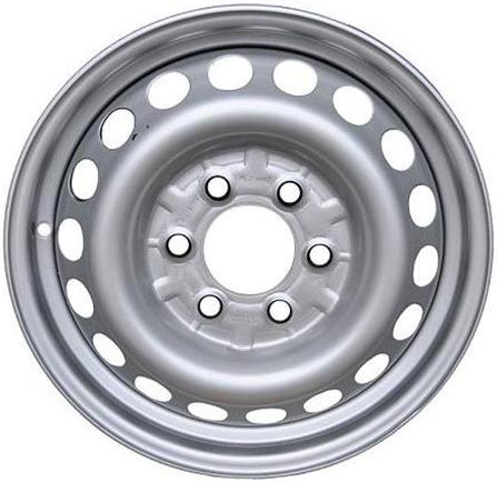 Колесный диск TREBL Mercedes 9487 6,5\R16 6*130 ET62 d84,1 Silver (9138147)
